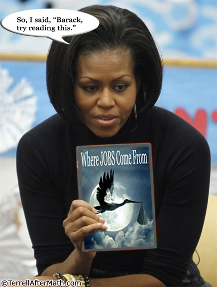 Michelle Obama Jobs Stork SC A Letter to Michelle Obama