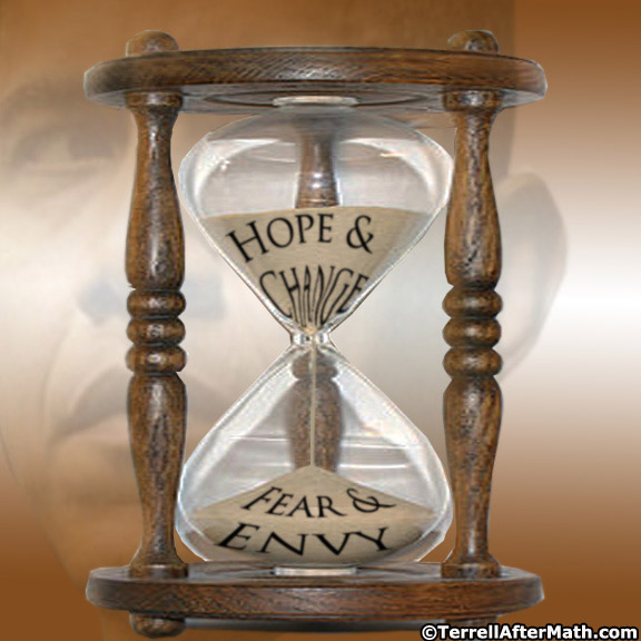 Obama Hourglass Hope and Change SC Here is Your Hope and Change