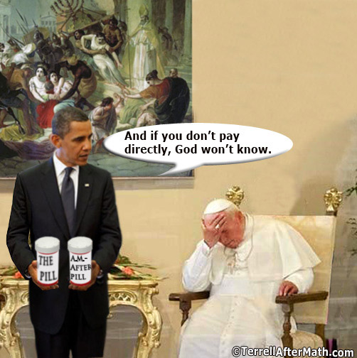 Obama Pope Birth Control SC The Obama Administrations Religious Exemption