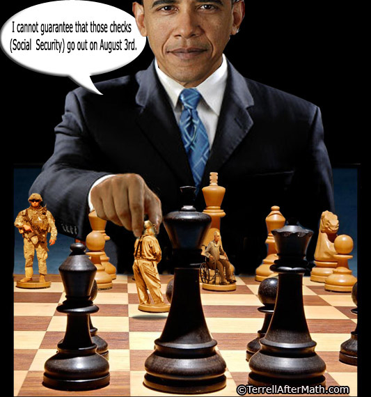 Obama Social Security Chess Game SC Games People play  Obamas the #1 Game Player