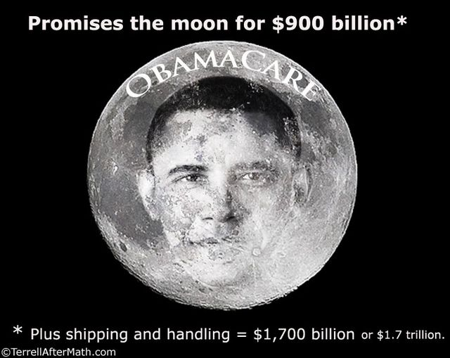 Obamacare In The Moon SC Obamacare: Lies, Mistruths, Falsehoods and Fabrications
