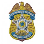 Secret Service badge 2 SC