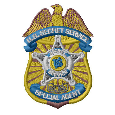 Secret Service badge 2 SC