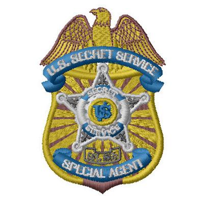 Secret Service badge SC