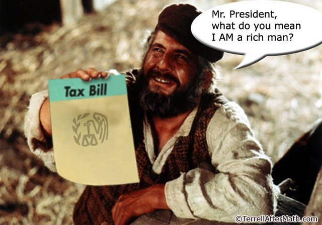 Tevye If I Were A Rich Man Tax Bill SC Soaking the Rich is not the answer. Its a large part of the problem.