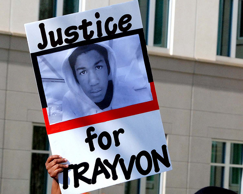 Trayvon Martin Protest 5 SC Trayvon Martin and George Zimmerman both victims of Black Leadership?