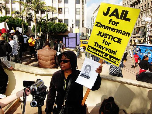 Trayvon Martin Protest 9 SC