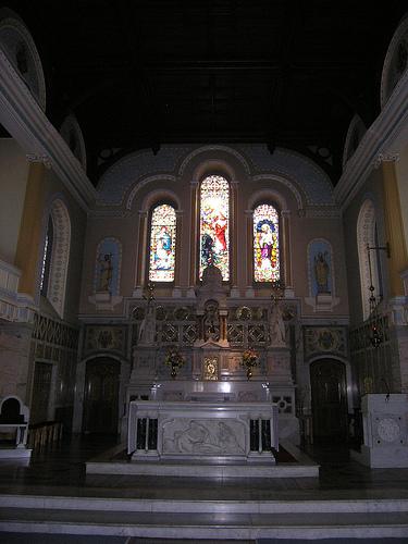 Catholic Church interior