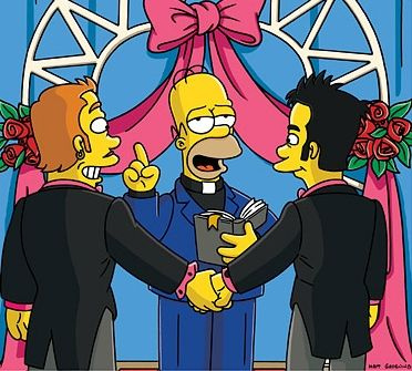 Gay Marriage Homer Simpson SC Gay Marriage and the Super Citizens