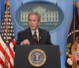 George W. Bush SC 300x258 Advice for the GOP: Confess Your Spending Sins and Repent