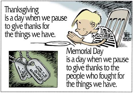 Memorial Day 2 Happy Memorial Day! Enjoy These Wonderful Cartoons and poem!