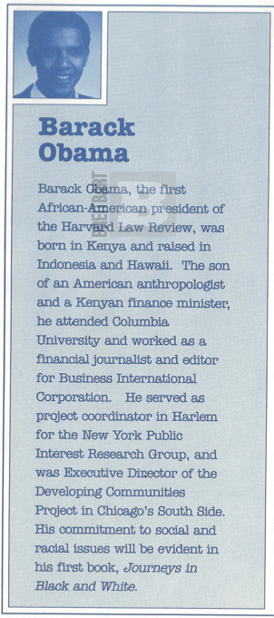 Obama Column Proof Obama Born in Kenya? Obama Literary Agent Says Yes