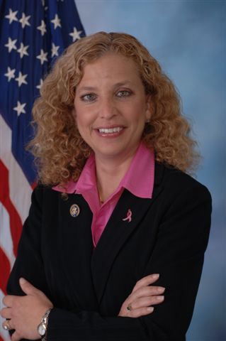 "Debbie Wasserman Schultz Official Portrait Thumb Debbie Wasserman Schultz is under 45% with 16 % ""undecided"""