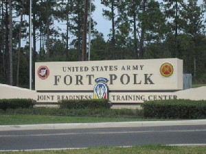 FORTPOLK 300x225 Same Sex Ceremony on Military Base Sparks Outrage