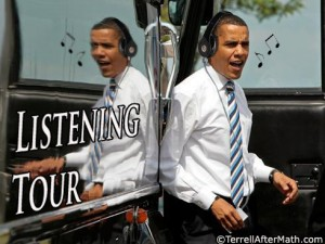 Obama Listening Tour SC 300x225 Obamas Cowardice