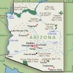 arizona map SC