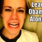 leave obama alone