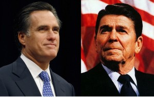 romneyreagan 300x189 Can Mitt Romney Reach Christians?