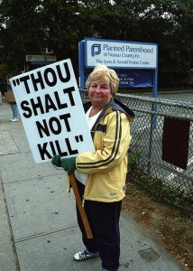 Abortion Protestor SC 214x300 Media once again silent regarding major pro life campaign