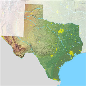 Texas Map 2 SC State Farm To Leave Illinois, Move To Texas