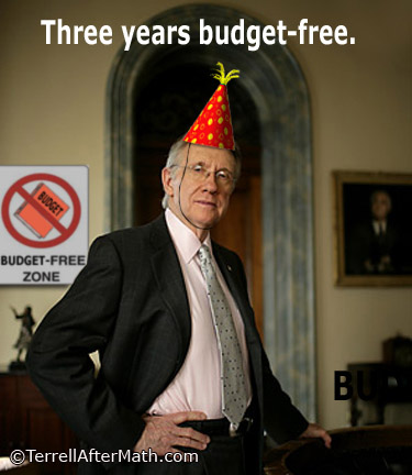 Harry Reid Three Years Budget Free SC Harry Reid is Done For