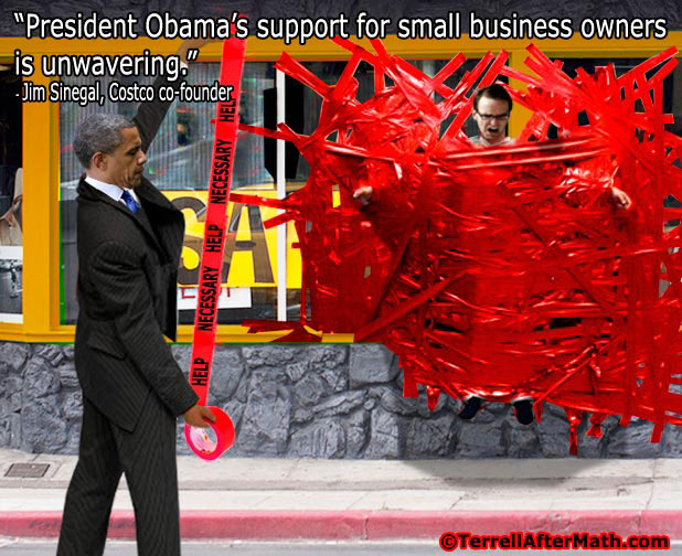 Obama Red Tape SC Want To See Your Policies in Reality, Mr. Obama?