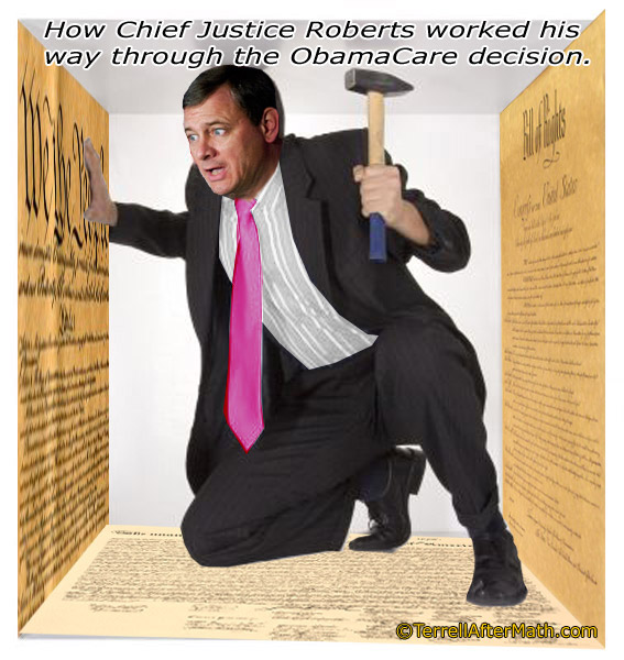 Roberts Obamacare Constitution SC 100 Page Bills Are Long Enough!