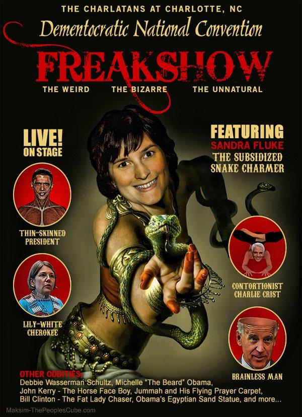 DNC Freakshow Poster