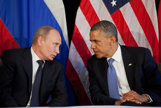 Vladimir Putin and Barack Obama SC Putin Proves Obama Still Rank Amateur