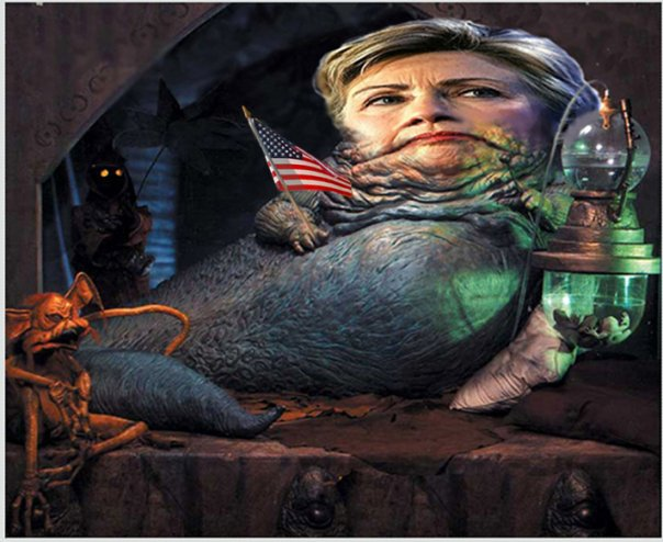 Hillary Clinton Jabba SC Hillary Clinton Caught With Her Pants Down?