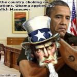 Obama Chokes Uncle Sam Regulations SC