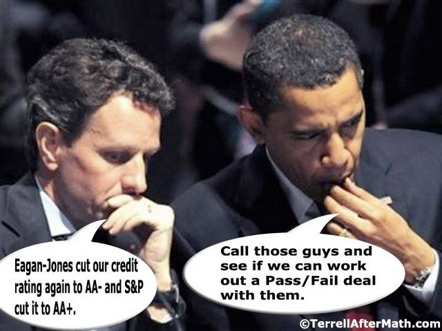 Obama Geithner Credit Downgrade Deal SC Five Most Wanted Economic Villains