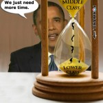 Obama Hourglass Middle To Lower Class SC