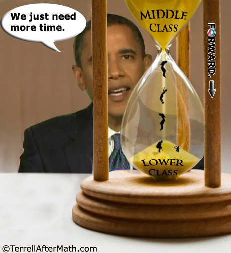 Obama Hourglass Middle To Lower Class SC 60 Facts That Prove The American Middle Class Is Being Wiped Out
