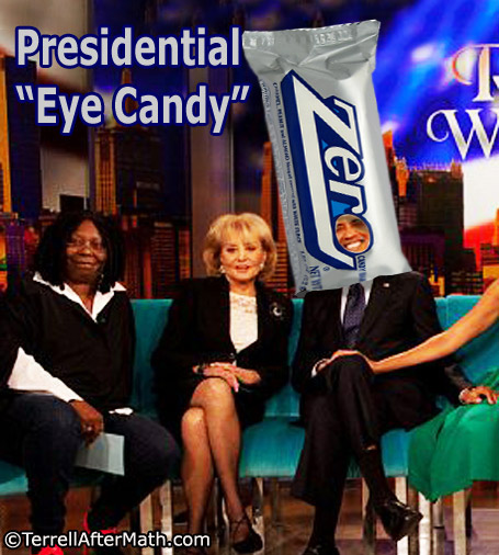 Obama The View Eye Candy SC