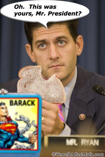 Paul Ryan Eats Obama's Lunch SC