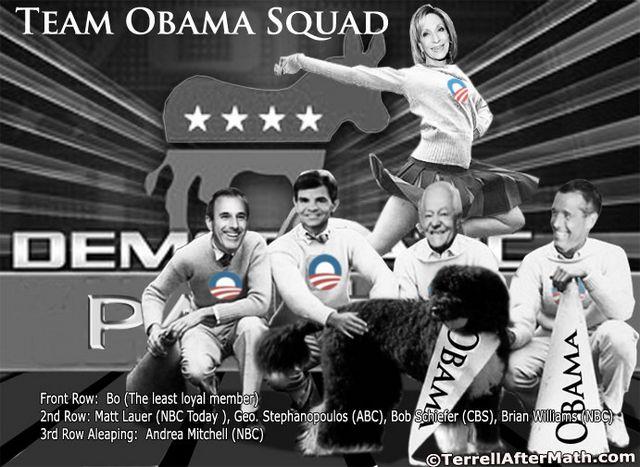 Team Obama Squad Liberal Media SC