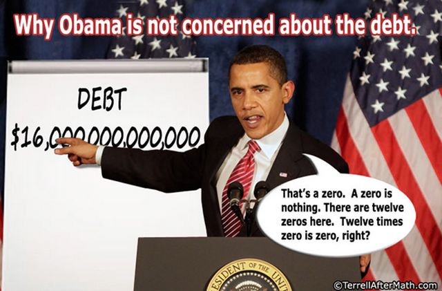 Why Obama Isnt Concerned About The Debt SC Terminating Fiscal Incompetence