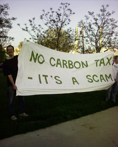 Carbon tax SC Obama Lackeys Push for Job Killing Carbon Taxes
