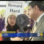 LAX protestors