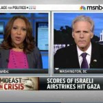 MSNBC lectures Israel jpeg