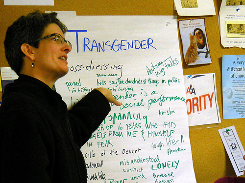 Transgender smaller College, DA allows man to expose Himself to young girls