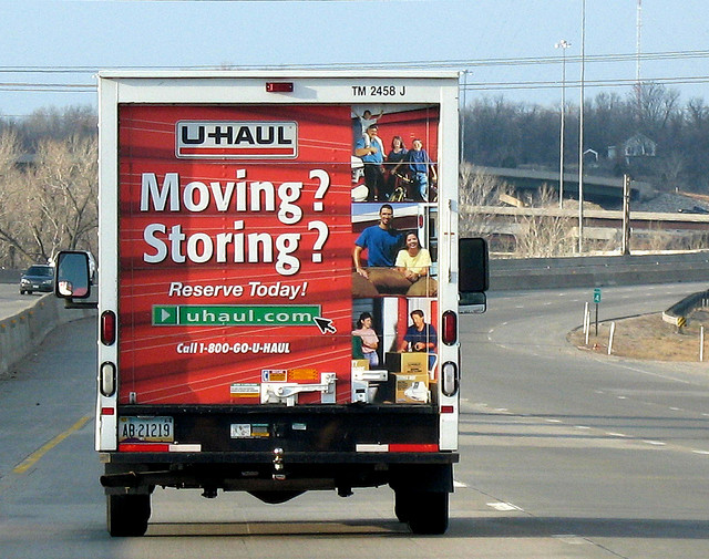 U haul back Creative Commons by Karen Californians Fleeing to Texas Improves CA Economy