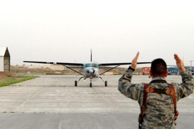 Iraqi air force receives new aircraft