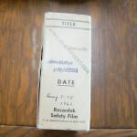 microfilm reel label