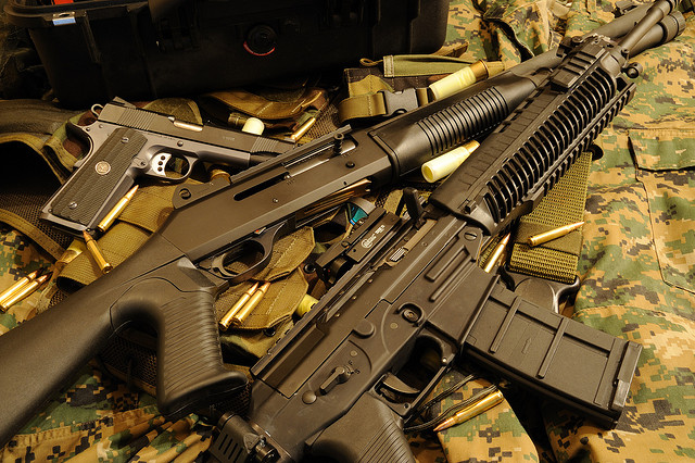 Assault Weapons Flickr Creative Commons Chayak