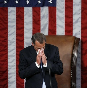 Boehner Crying1 The Comatose GOP.... Time to pull the plug!