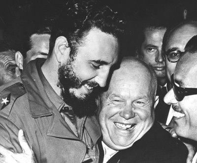 Nikita Kruschev and Fidel Castro SC Nikita Khrushchev: White Mentor of Modern Black Anti Americanism!