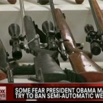 Obama Trying to Ban Semi-Automatic Weapons jpeg