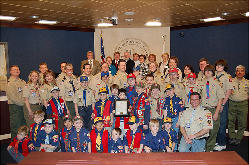 Boy Scouts of America SC Boy Scouts delay decision on admitting gays